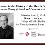 2014 Lecture in the History of the Health Sciences _ Dr. Taggart