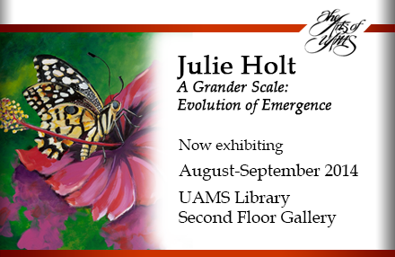 Library Gallery Features Art of Julie Holt