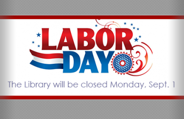 UAMS Library Labor Day Closure Image